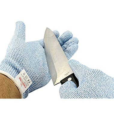 rasoiAid Cut Resistant Gloves for Home & Kitchen – Level 5 Protection for Ultimate Durability – Thin & Breathable Multipurpose Gloves for Professional & Home Chefs Alike (Large)