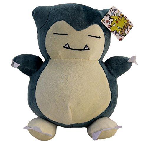 Large Snorlax Plush 10 Inch Tall - Jumbo Size Pokemon Plushie 10'' PRIME (Plush Pokemon Prime)