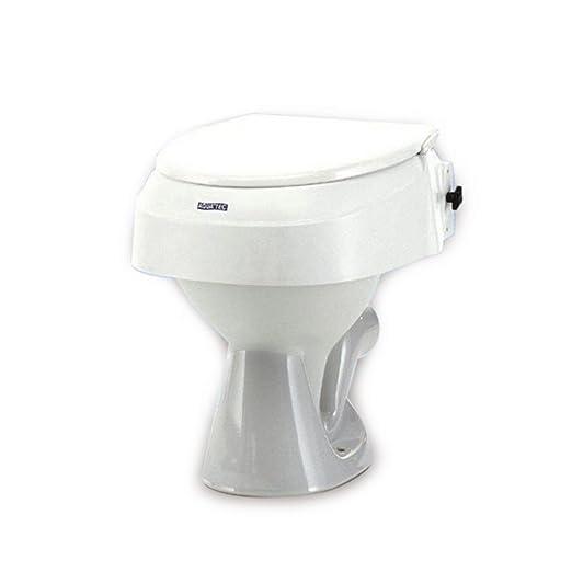 3 opinioni per Rialzo per WC regolabile in 3 altezze con coperchio