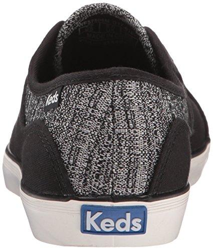 Keds Frauen Coursa Knit Fashion Sneaker Schwarz