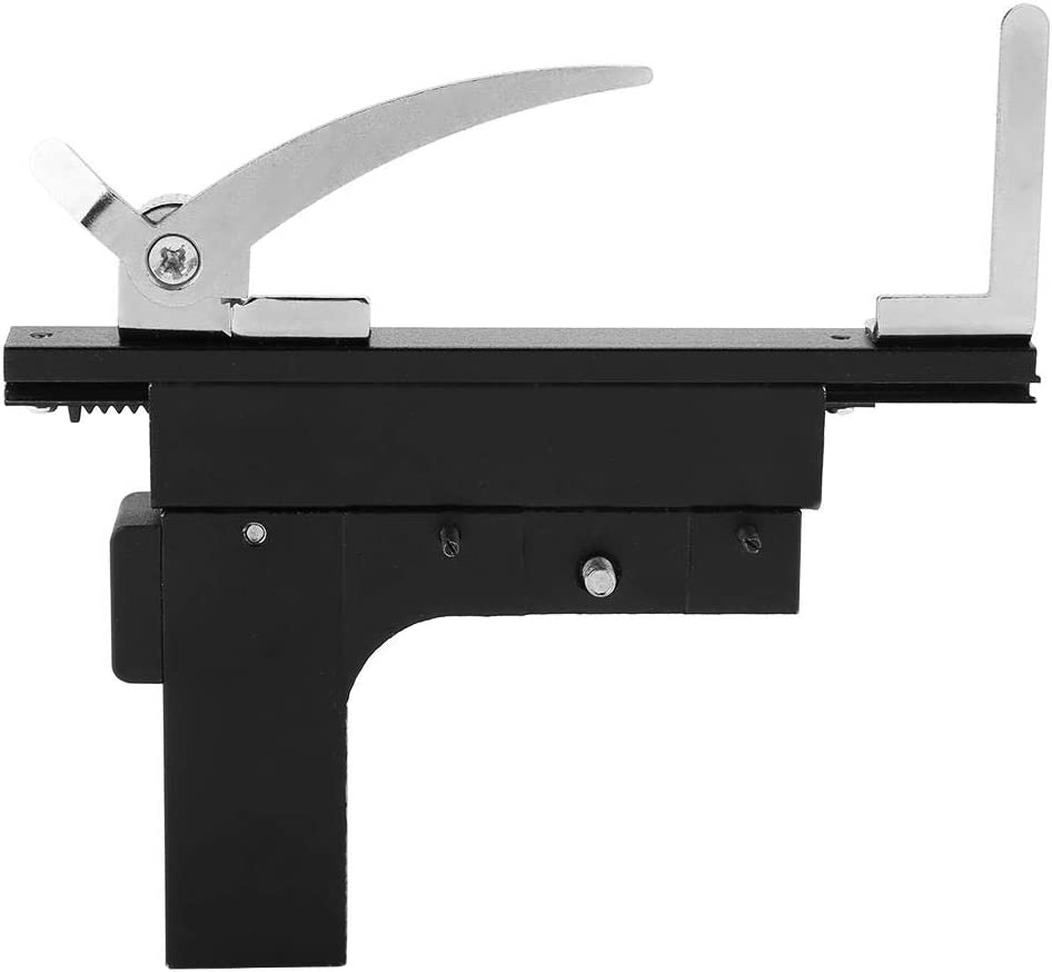 mootea Microscope Accessories Movable Caliper Ruler Mechanical Stage X-Y Moveable Stage with Scale