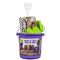 Bucket O'Sand 1.5 pounds Brown Kinetic Sand with Castle Mold and Shovel