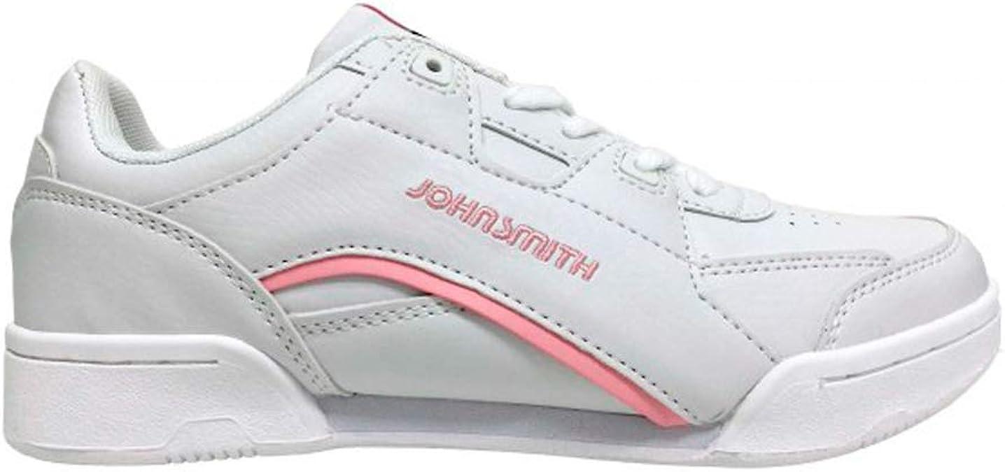 JOHN SMITH Zap.J.Smith CASIUS C W Blanco/Rosa, Zapatillas Deportivas para Mujer, 40 EU: Amazon.es: Zapatos y complementos