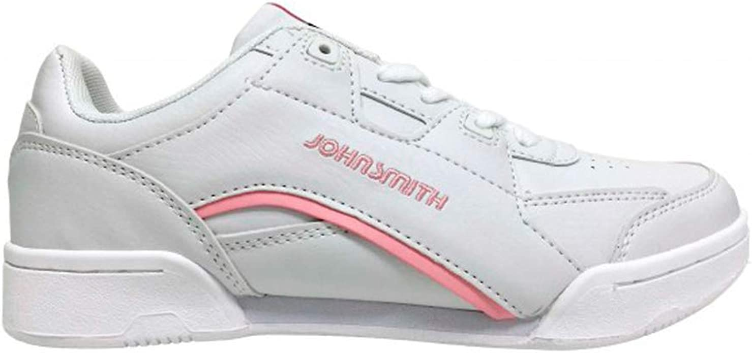 JOHN SMITH Zap.J.Smith CASIUS C W Blanco/Rosa 40, Zapatillas ...