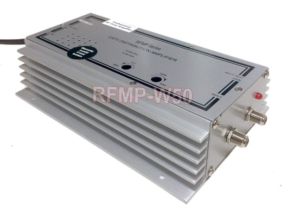 Amazon com: Professional RF Cable TV Signal Amplifier with