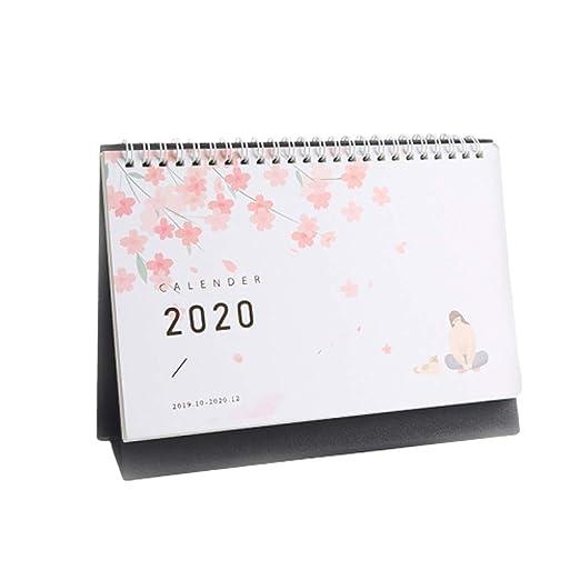 Calendario Calendarios de Escritorio Calendarios d 2020 Calendario ...