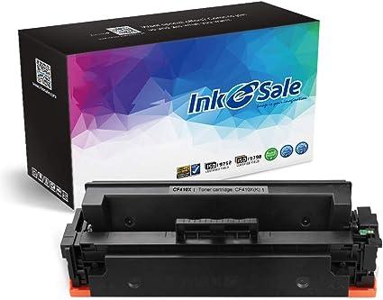 5 PK CF410A Black Toner Cartridge For HP Color LaserJet M452dw M477fdn M477fdw