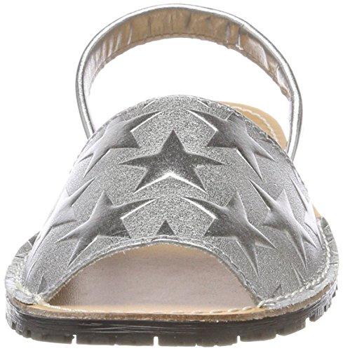 Para 28916 Tamaris Abierto silver De Sandalias Taln Stars Mujer Plateado rqwrXd