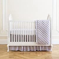 Summer Infant 4-Piece Classic Bedding Set with Adjustable Crib Skirt, Medalli...