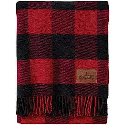 Pendleton Motor Robe Throw, Rob Roy - Made in the USA 100-Percent wool Includes leather carrier - blankets-throws, bedroom-sheets-comforters, bedroom - 51vqdAYCkIL. SS400  -