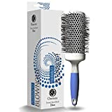 Professional Round Brush for Blow Drying - Large Ceramic Ion Thermal Barrel Brush for Sleek, Precise Heat Styling and Maximum Volume - Lightweight, Antistatic Bristle Hair Brush by Osensia (2 Inch)