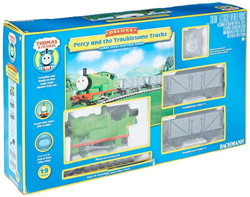 Bachmann Trains Percy and the Troublesome Trucks Ready-to-Run for sale  Delivered anywhere in USA