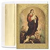 Madonna & Child Religious Christmas Cards -