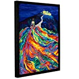 ArtWall 0lyn012a3648f Linzi Lynn's ''Christians Dream'' Gallery Wrapped Floater-Framed Art Canvas, 36'' x 48''