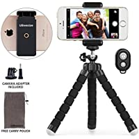 Phone tripod, UBeesize Portable and Adjustable Camera...