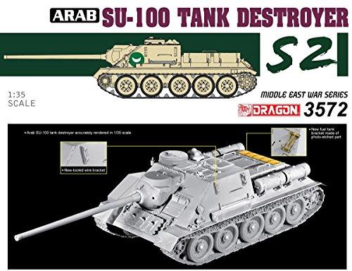 Dragon Models 1/35 Egyptian Su-100 Tank Destroyer-the Six Day War Model Building Kits