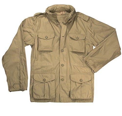 Rothco Lightweight Vintage M-65 Jacket-Khaki, 2X
