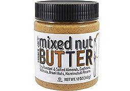 Trader Joe\'s Mixed Nut Butter Almonds, Cashews, Walnuts, Brazil, Hazelnuts, & Pecans 12 oz