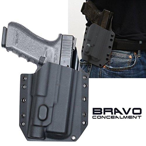 - Bravo Concealment Glock 17 22 31 TLR1-HL OWB BCA Light Bearing Gun Holster