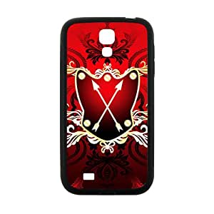 ZXCV Festival Red Badge Custom Protective Hard Phone Cae For Samsung Galaxy S 4