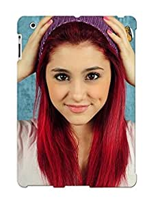 Jkmoqal4218yHVhD Case Cover Ariana Grande Compatible With Ipad 2/3/4 Protective Case