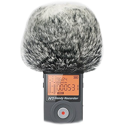 (Microphone Furry Windscreen Wind Cover for Zoom H1)