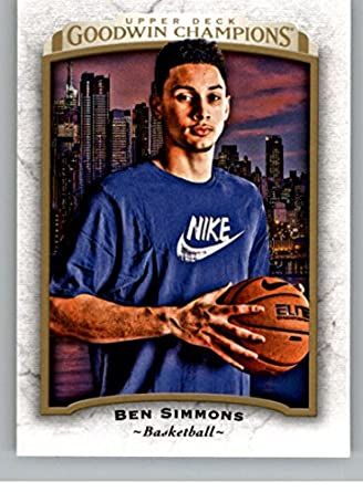 Amazoncom 2017 Upper Deck Goodwin 26 Ben Simmons