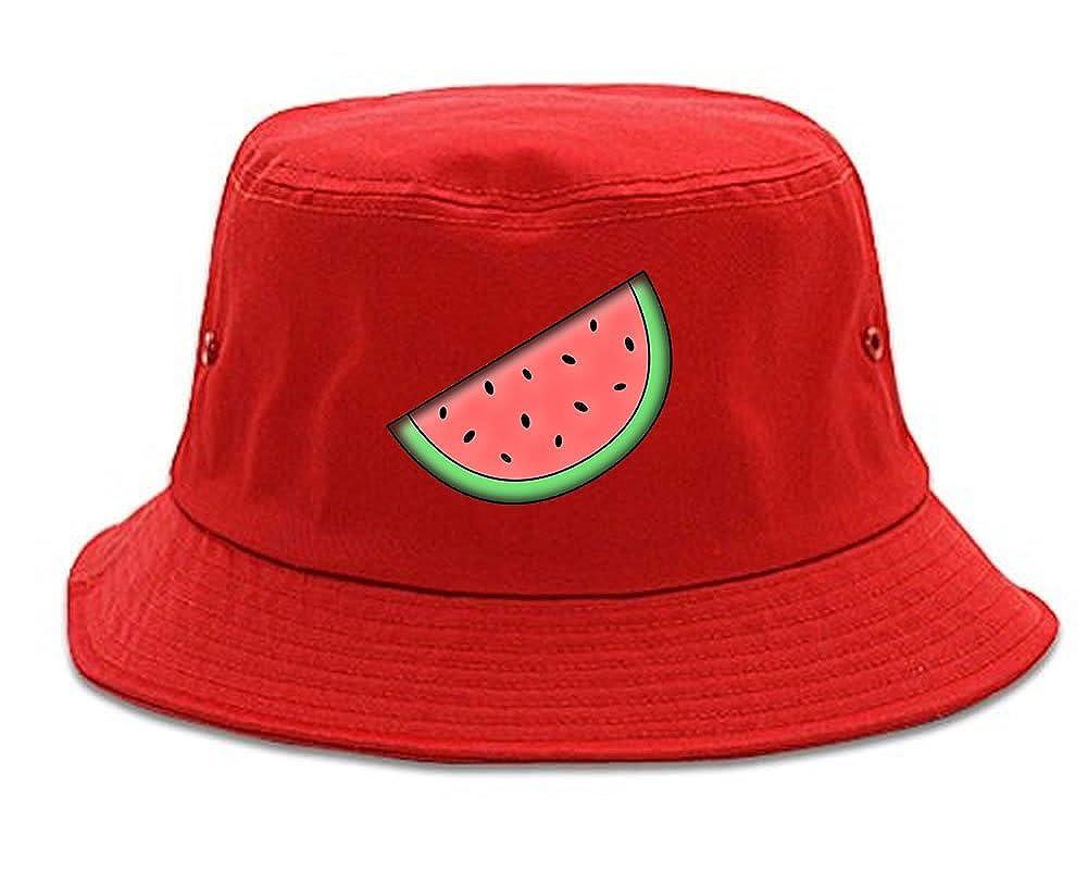 Kings Of NY Watermelon Emoji Meme Chest Mens Bucket Hat 1FALL16BUCKET-677
