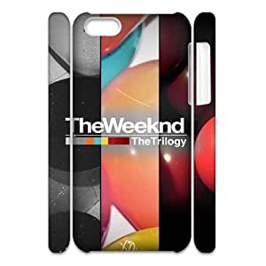Custom Unique Design Print Hard Back 3D Cover Case with The Weeknd for iphone 5/5s iphone 5/5s at Hushell