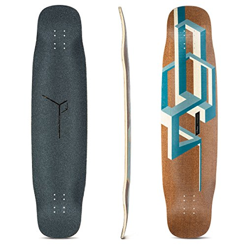 Loaded Boards Tesseract Bamboo Longboard Skateboard Deck