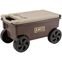 AMES 1123047100 Buddy Lawn and Garden Cart, 2-Cubic Foot Capacity