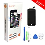 6s Plus Screen Replacement,Compatible 6S Plus 5.5 inch LCD Replacement Screen with 3D Touch Screen Digitizer Fram Assembly Full Set + Free Tools (Black)