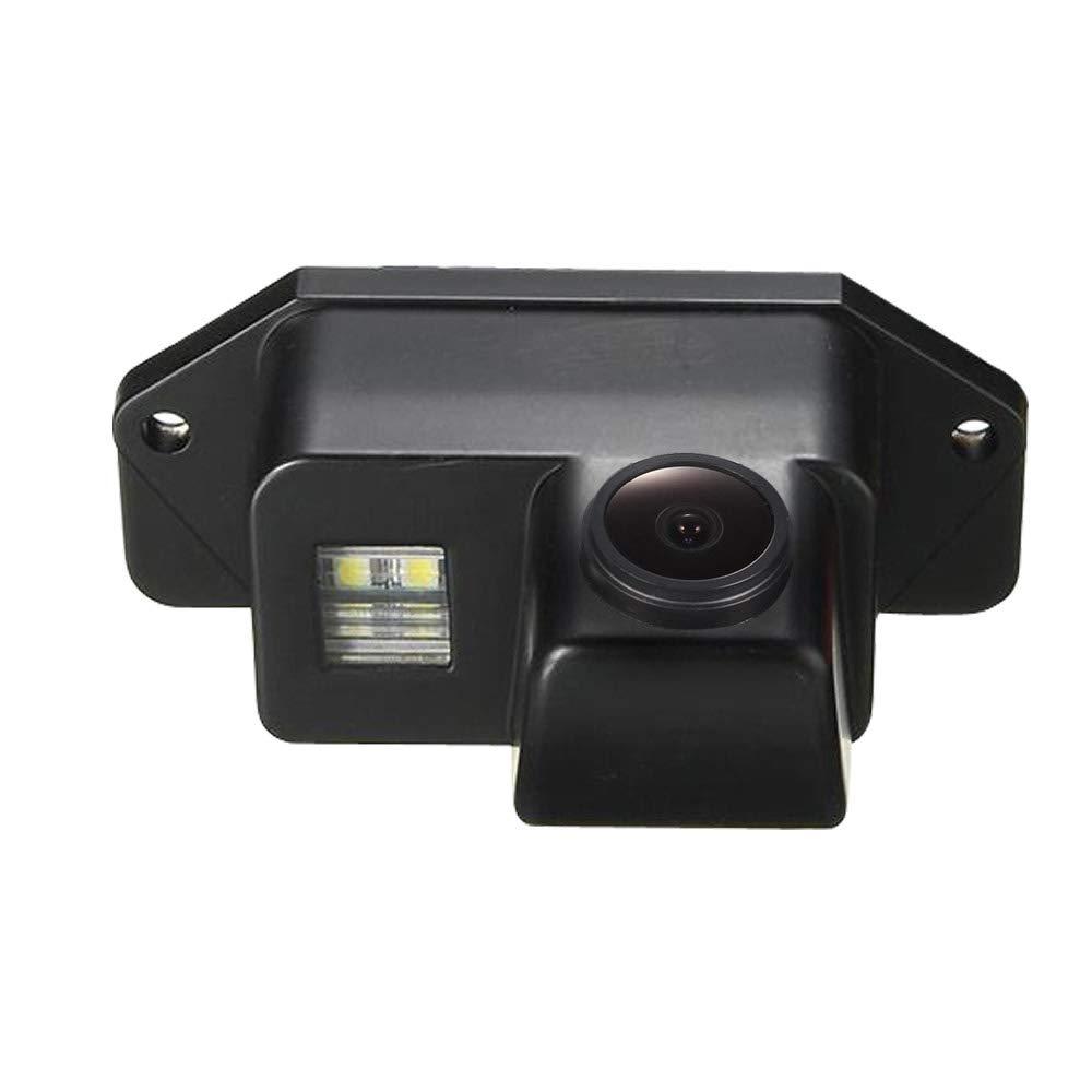 HDMEU HD Color CCD Waterproof Vehicle Car Rear View Backup Camera 170/° Viewing Angle Reversing Camera for Mitsubishi lancer Evolution 2007-2014