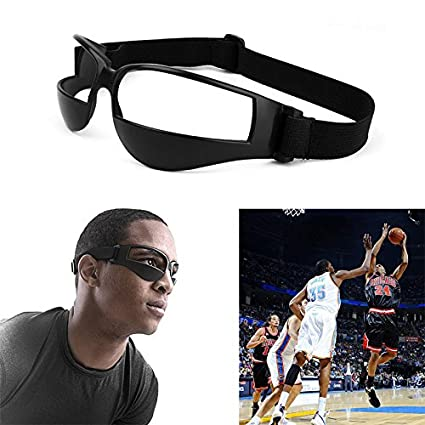 bcbb5e622742 Image Unavailable. Image not available for. Color  Idealplast Heads Up  Basketball Sports Training Glasses Eyewear Dribble Dribbling Supplies