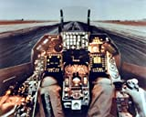 F-16 Cockpit Flight Deck Wall Decor Military Aviation Art Print Poster (16x20)