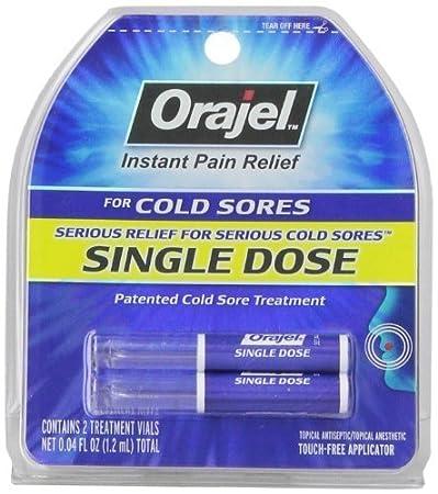 cold sore treatment