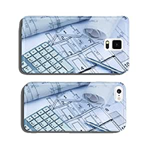 Blueprint for a house cell phone cover case iPhone5