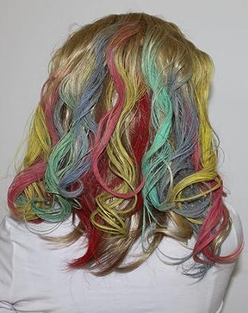Haarkreide 24 Stück Xxl Farben Zum Einfärben Von Haare Tönung