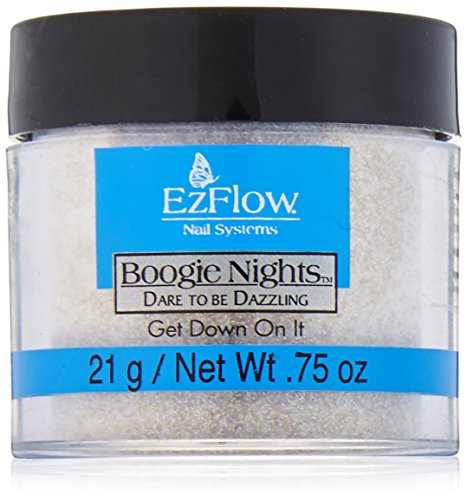 - EZ Flow Dare To Be Dazzling Glitter Get Down On It False Nails, 0.75 Ounce