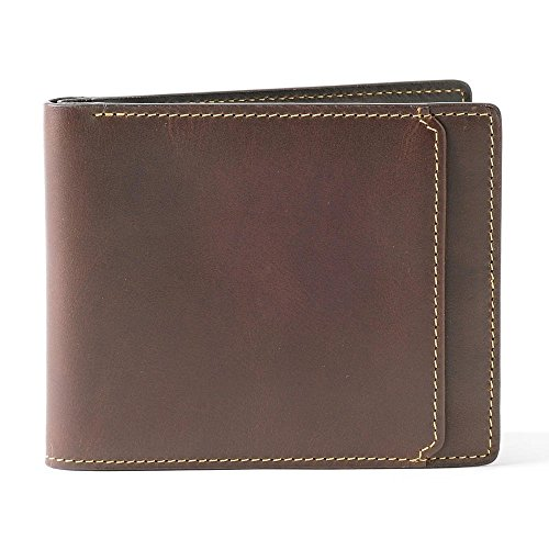 in Slimfold Bryant Boconi Brown Boconi Bryant Wallet Slimfold Leather Brown Brown fHwqpz6
