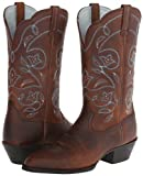 Ariat Ladies Heritage R Toe 9.5 Wide Brown Oiled R