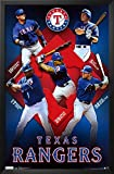 Rangers Collage Framed Poster 24 x 36in