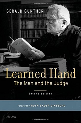Learned Hand: The Man and the Judge by Oxford University Press
