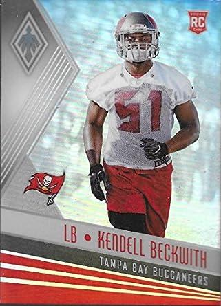 big sale 0b2a5 3e1e0 Amazon.com: 2017 Panini Phoenix #197 Kendell Beckwith Rookie ...