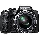 """Fujifilm FinePix S9900W - Cámara compacta de 16.2 Mp (pantalla de 3"""", zoom óptico 50x, estabilizador óptico), negro (importado)"""