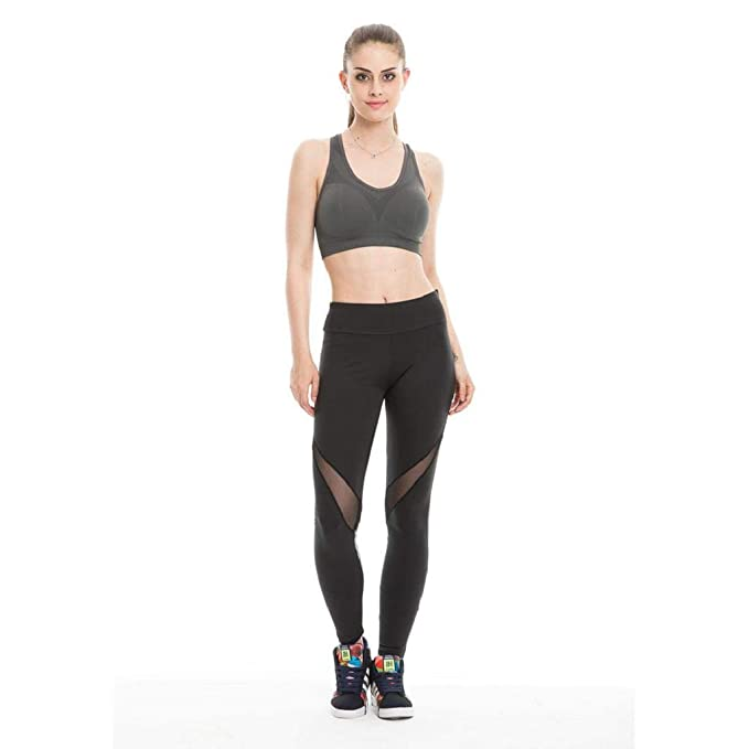 SHOBDW Mujeres Capri Leggings Gimnasio Deportes Mallas para ...