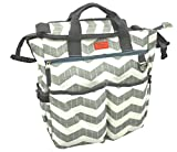Compra NEW AMAZINGLY DURABLE Poly Canvas Designer Diaper Bag by iTOTE/Perfect for Ipads en Usame