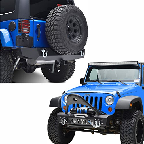 Stubby Front Bumper + Off-road Rear