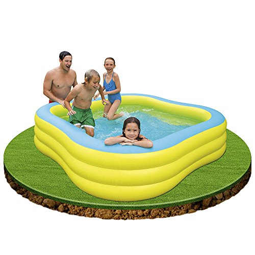 Intex piscina familiar 229 x 229 x 56 cm 1215 l 89 57495 for Alberca familiar intex