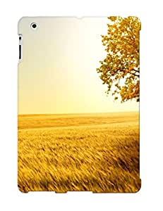 Exultantor Shock-dirt Proof Landscape Nature Trees Fields Case Cover Design For Ipad 2/3/4 - Best Lovers' Gifts